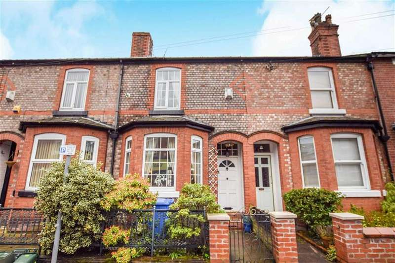 3 Bedrooms Terraced House for sale in Woodfield Road, Altrincham, Cheshire, WA14