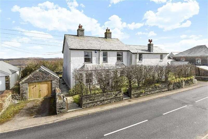 5 Bedrooms Detached House for sale in Rockhead Street, Delabole, Cornwall, PL33