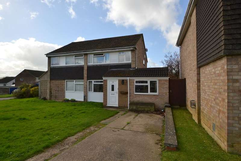 4 Bedrooms Semi Detached House for sale in Lowick Court, Moulton Leys, Northampton, NN3