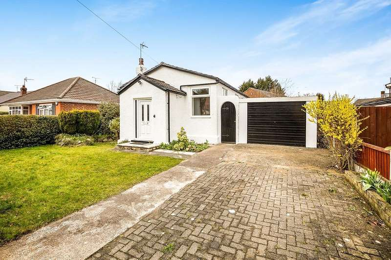 2 Bedrooms Detached Bungalow for sale in Mayfield Road, Blacon, Chester, CH1