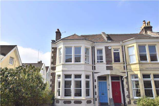 4 Bedrooms End Of Terrace House for sale in Downfield Road, BRISTOL, BS8 2TJ