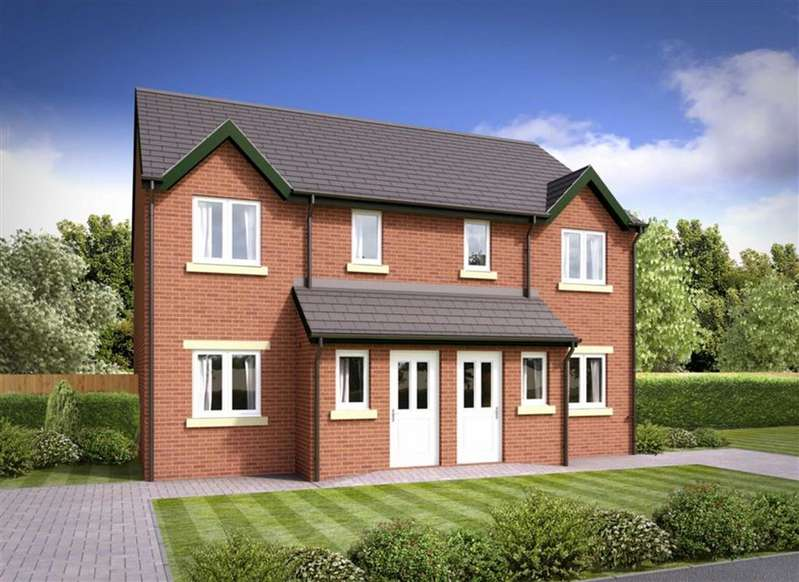 3 Bedrooms Semi Detached House for sale in The Gilpin - Plot 36, Barrow-in-Furness, Cumbria