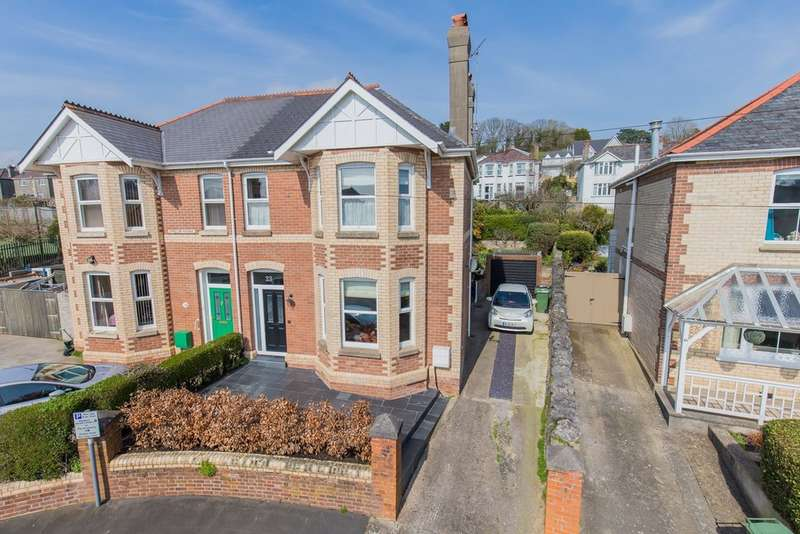 4 Bedrooms Semi Detached House for sale in Garston Avenue, Newton Abbot