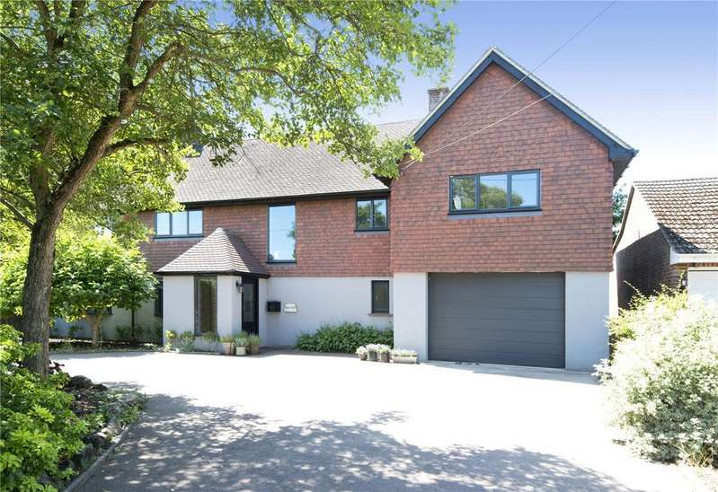5 Bedrooms Detached House for sale in Long Mill Lane, Crouch, Sevenoaks, Kent, TN15
