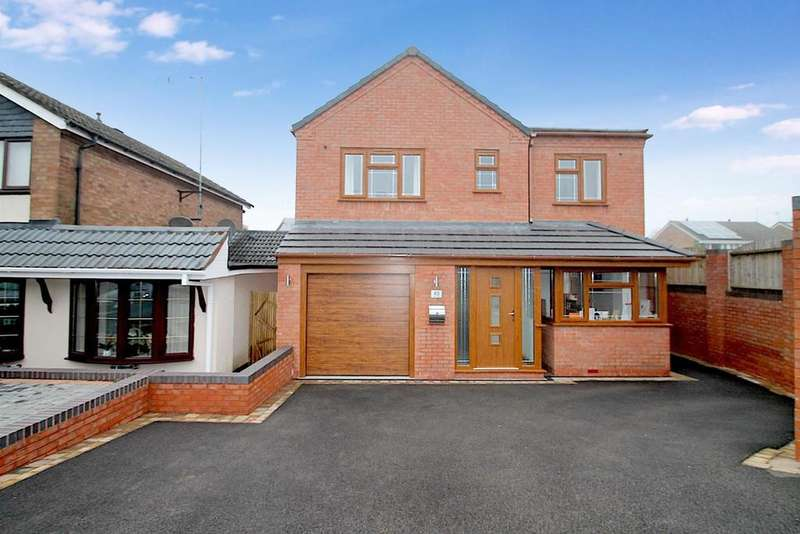 4 Bedrooms Detached House for sale in Copperkins Road, Hednesford, Cannock
