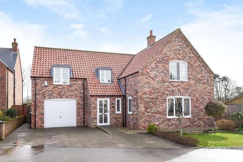 3 Bedrooms Detached House for sale in Woodmans Yard, Tetford, Horncastle, LN9 6RA