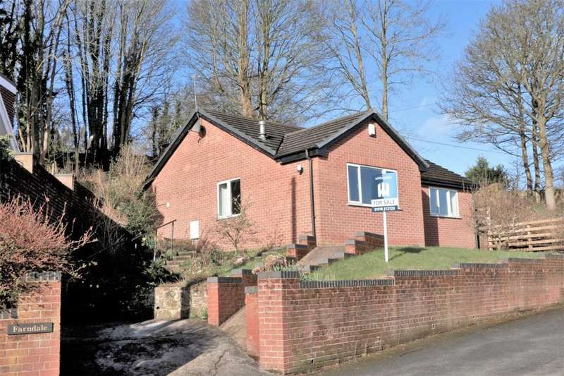 2 Bedrooms Detached Bungalow for sale in Cerney Road, Moss, Wrexham, LL11