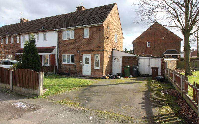 2 Bedrooms Terraced House for sale in Priestley Road, Walsall