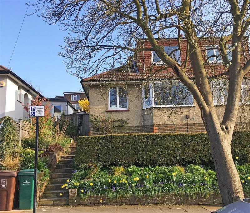 3 Bedrooms Semi Detached Bungalow for sale in Woodbourne Avenue, Patcham, Brighton