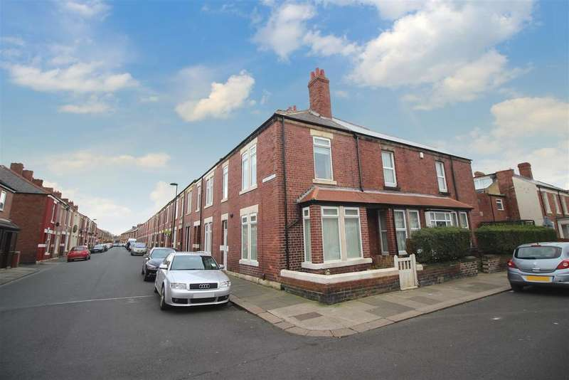 3 Bedrooms End Of Terrace House for sale in Stanley Street, Wallsend