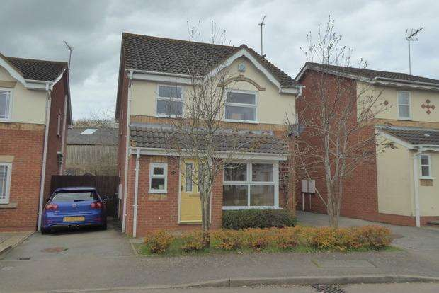 3 Bedrooms Detached House for sale in Copymoor Close, Wootton, Northampton, NN4