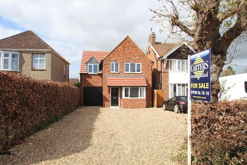 4 Bedrooms Detached House for sale in Bradwell Road, Bradville, Milton Keynes