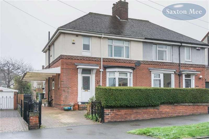 3 Bedrooms Semi Detached House for sale in Leslie Road, Hillsbrough, Sheffield, S6
