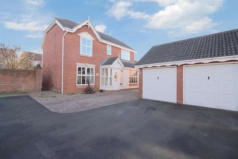 4 Bedrooms Detached House for sale in St. Cuthberts Way, Holystone, Newcastle Upon Tyne