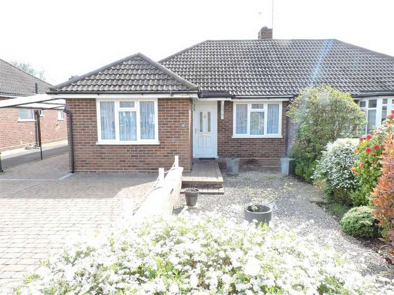 2 Bedrooms Semi Detached Bungalow for sale in Foxlake Road, Byfleet Surrey