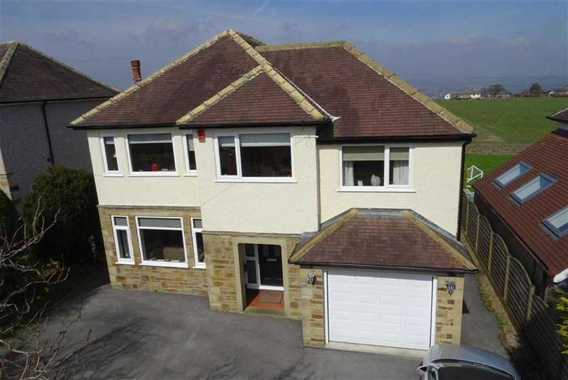 4 Bedrooms Detached House for sale in Gernhill Avenue, Fixby, Huddersfield, HD2