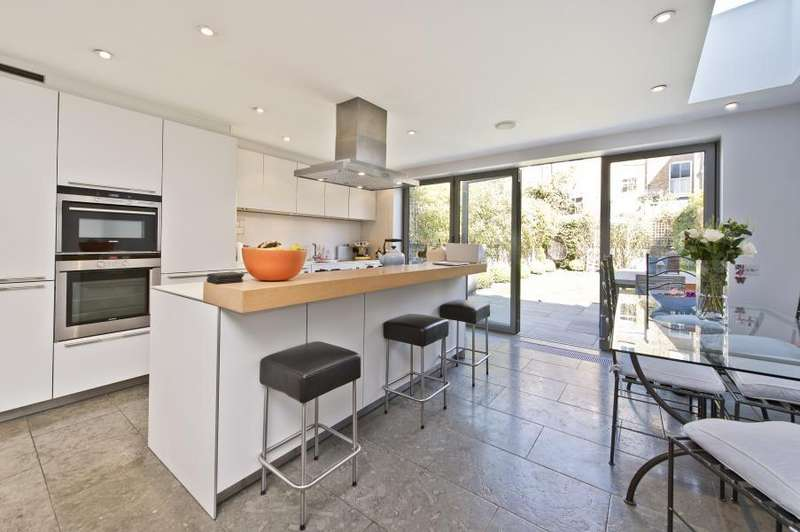 5 Bedrooms Terraced House for sale in Batoum Gardens, Brook Green W6