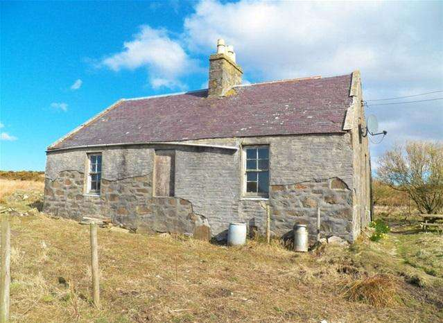 2 Bedrooms Detached House for sale in Damaoidh, Port Charlotte, Isle of Islay, PA48 7UD