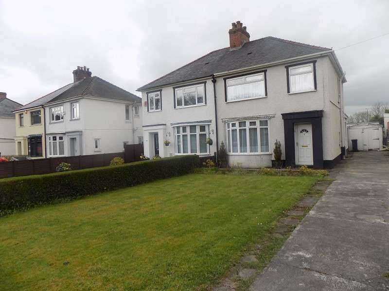 3 Bedrooms Semi Detached House for sale in Pinewood Terrace, Baglan, Port Talbot, Neath Port Talbot. SA12 8BH