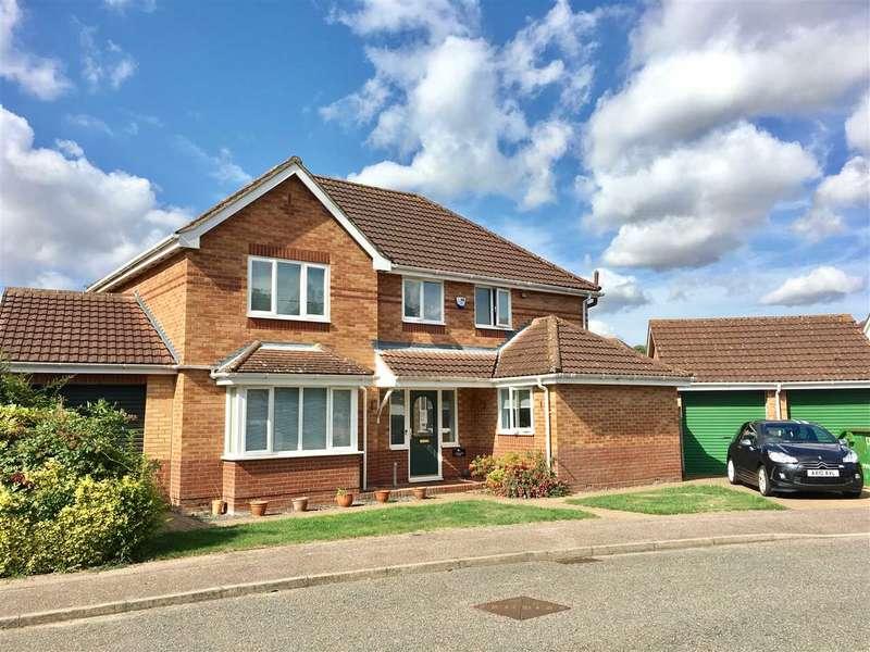 4 Bedrooms Detached House for sale in Belgrave Close, Off Tuddenham Road, Ipswich