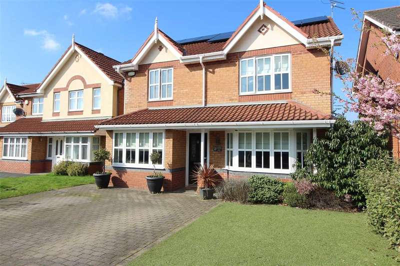 4 Bedrooms Detached House for sale in Shakespeare Avenue, Kirkby