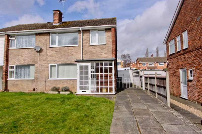 3 Bedrooms Semi Detached House for sale in Stoneleigh Way, Leicester