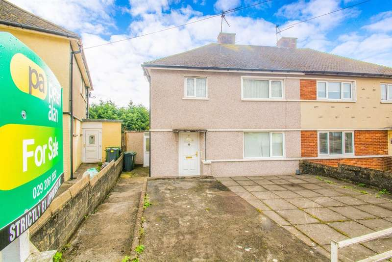 3 Bedrooms Semi Detached House for sale in Portfield Crescent, Llanishen, Cardiff