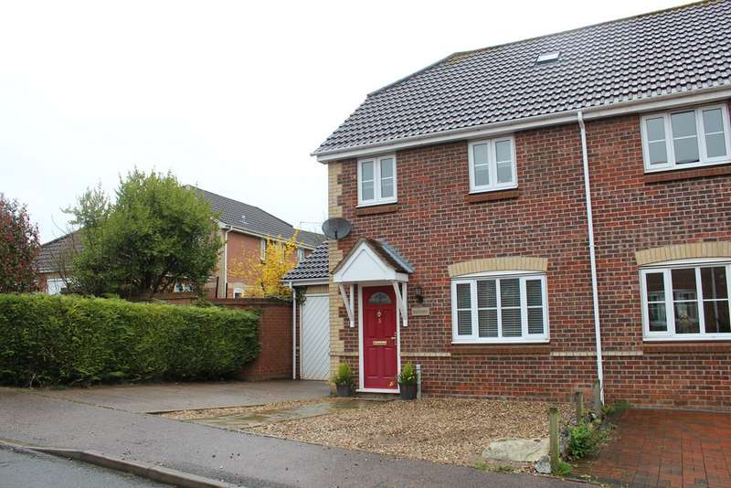 3 Bedrooms Semi Detached House for sale in Bury St Edmunds IP32