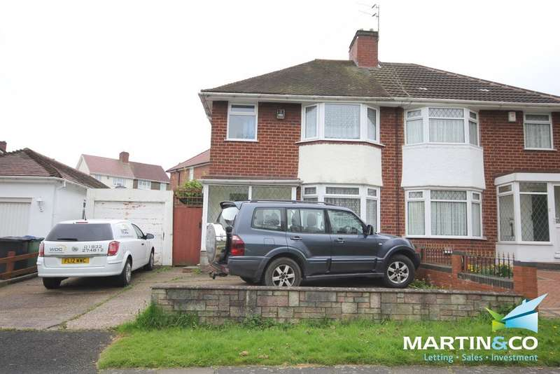 3 Bedrooms Semi Detached House for rent in Norman Road, Smethwick, B67