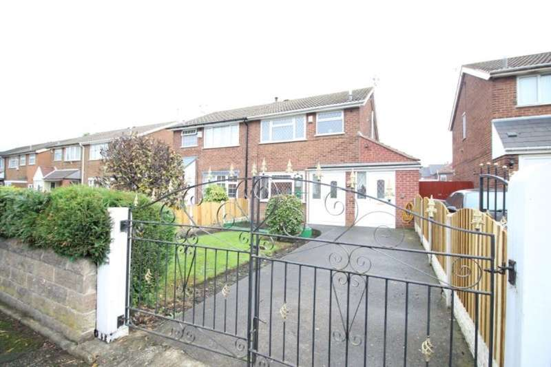 3 Bedrooms Semi Detached House for rent in Basford Close, Sheffield, S9