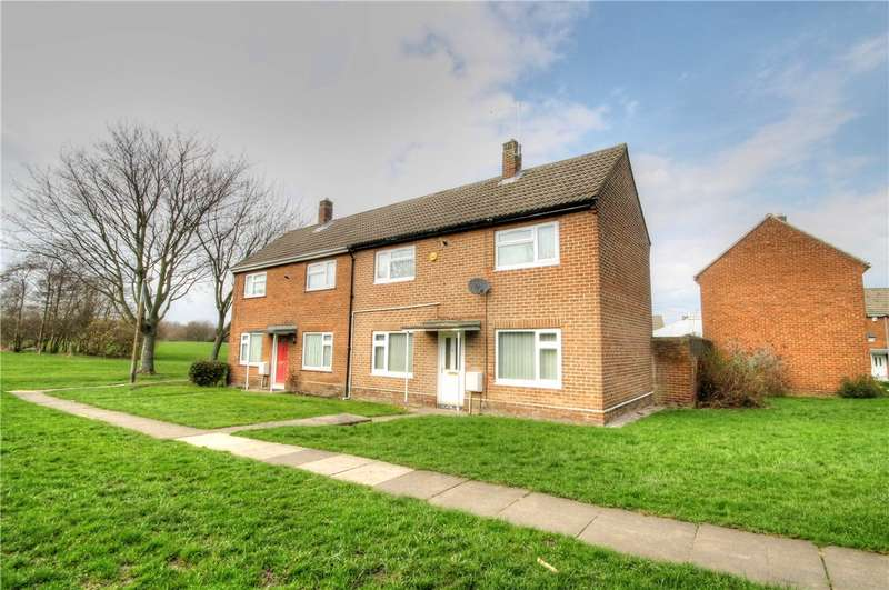 2 Bedrooms Semi Detached House for sale in The Brooms, Ouston, Chester Le Street, DH2