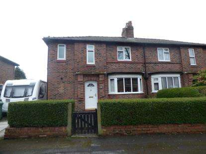 3 Bedrooms Semi Detached House for sale in Hulme Road, Sale