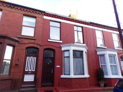 3 Bedrooms Terraced House for sale in Rosslyn Street, Liverpool, Merseyside, L17