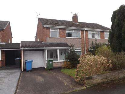 3 Bedrooms Semi Detached House for sale in Charminster Close, Great Sankey, Warrington, Cheshire, WA5