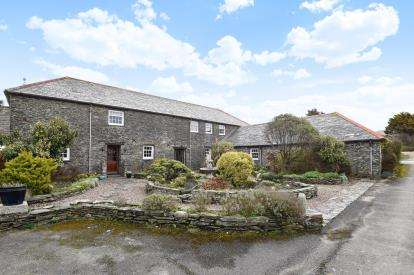 5 Bedrooms Barn Conversion Character Property for sale in Boscastle, Cornwall