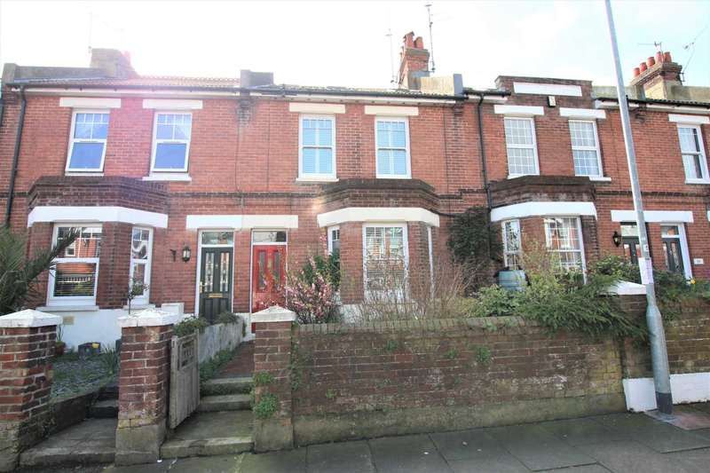 4 Bedrooms Terraced House for sale in Motcombe Road, Eastbourne, BN21 1QT