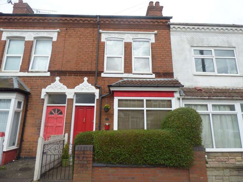 3 Bedrooms Terraced House for sale in Hobson Road, Selly Park, Birmingham, B29 7QA