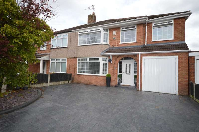 4 Bedrooms Semi Detached House for sale in Harrogate Road, Eastham