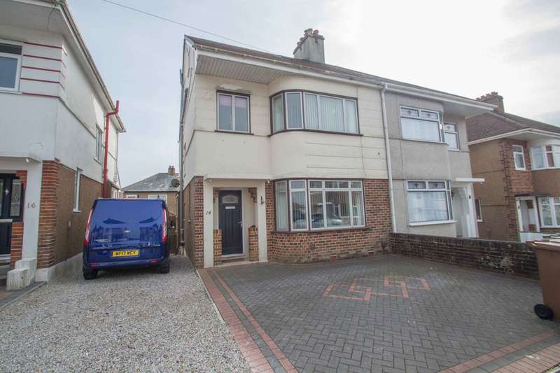 4 Bedrooms Semi Detached House for sale in Higher Compton, Plymouth