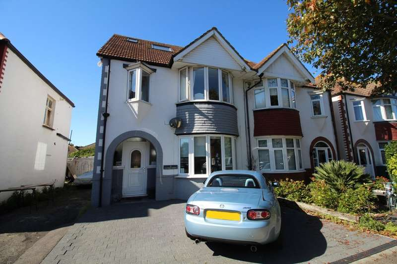 5 Bedrooms Semi Detached House for sale in St. Leonards Gardens, Hove, BN3 4QB