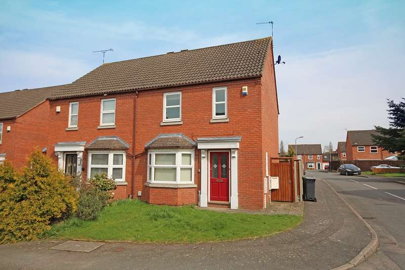 3 Bedrooms Semi Detached House for sale in Mulberry Close, Leamington Spa
