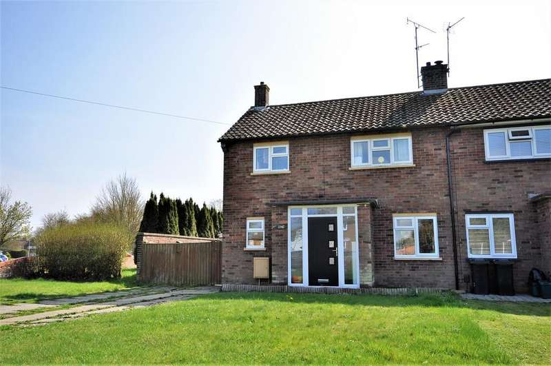 3 Bedrooms Terraced House for sale in Hazell Avenue, Shrub End, CO2 9DR