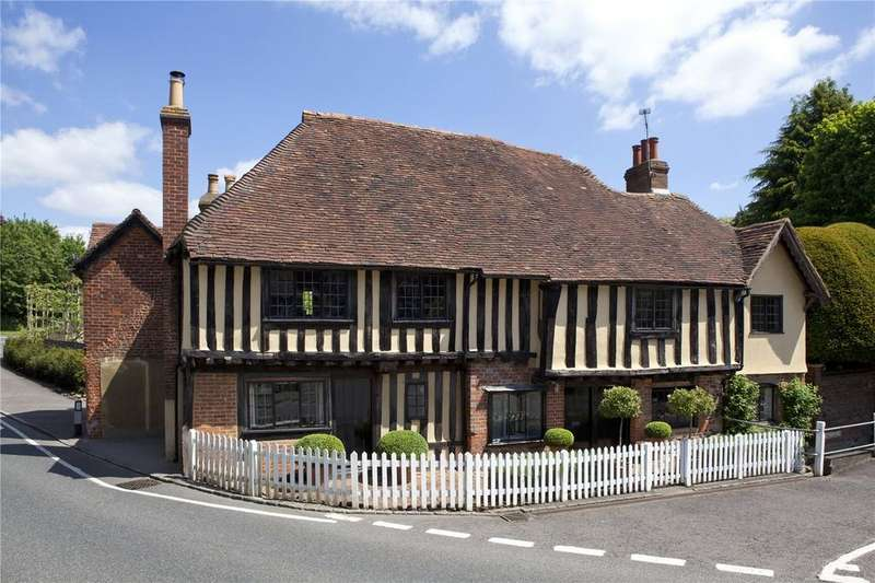 5 Bedrooms Detached House for sale in The Street, Ightham, Sevenoaks, Kent, TN15