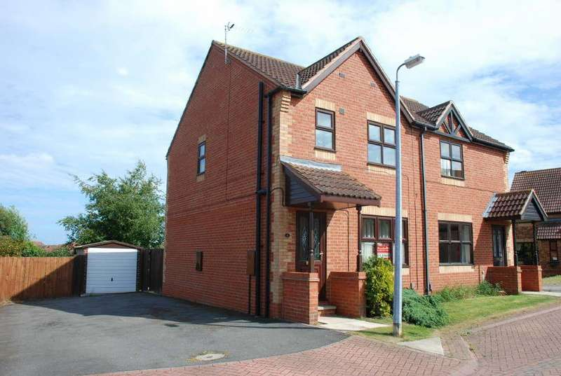 3 Bedrooms Semi Detached House for sale in Foxglove Gardens, Grimsby, Lincolnshire, DN34