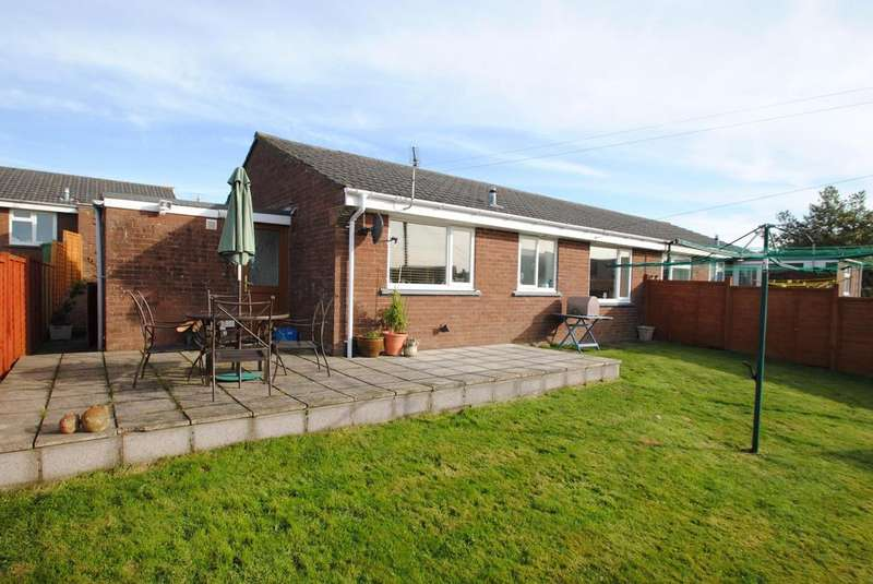 2 Bedrooms Semi Detached Bungalow for sale in Mayflower Close, Chittlehampton