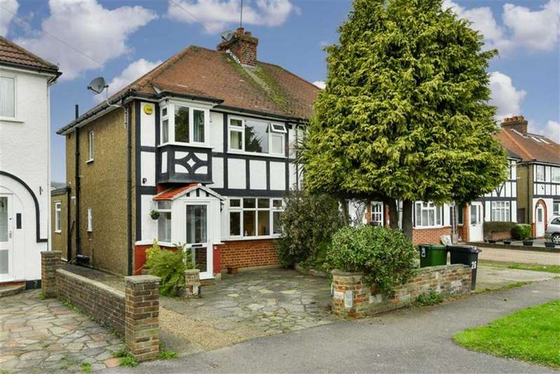 3 Bedrooms Semi Detached House for sale in Pams Way, Epsom, Surrey
