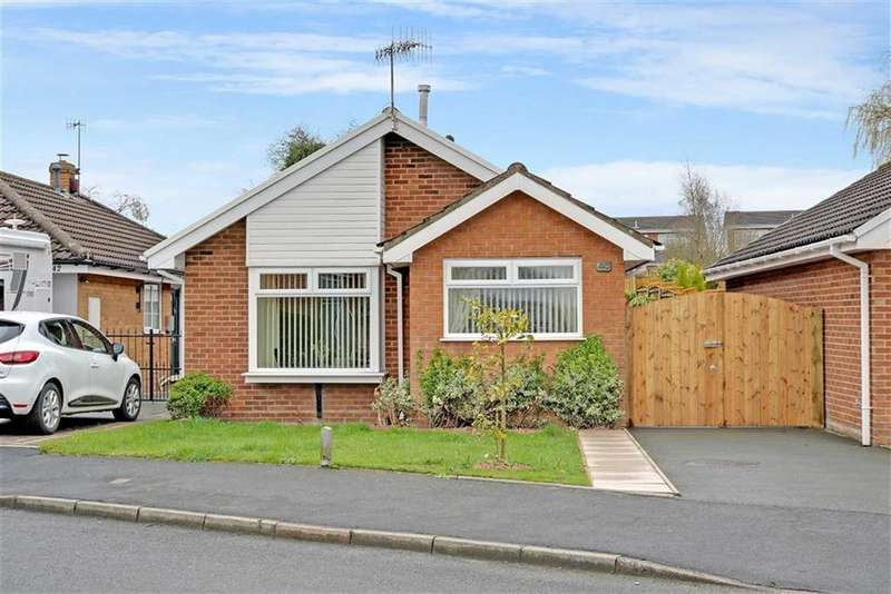 2 Bedrooms Detached Bungalow for sale in Java Crescent, Trentham, Stoke-on-Trent