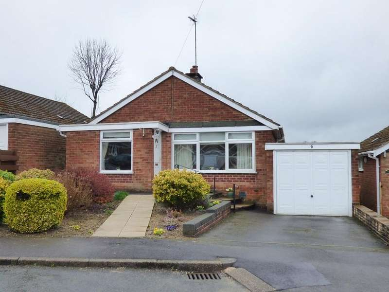 2 Bedrooms Detached Bungalow for sale in Beech Avenue, Hulland Ward, Ashbourne