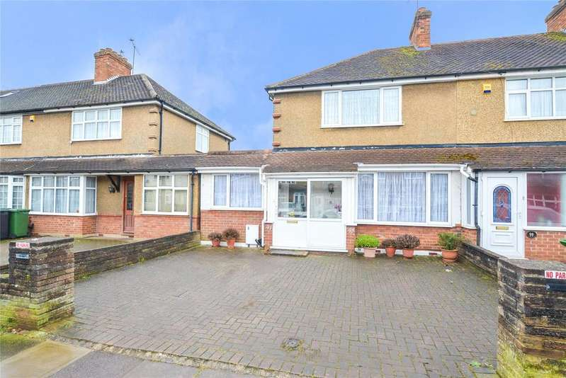 2 Bedrooms Semi Detached House for sale in Kingswood Road, Watford, Hertfordshire, WD25