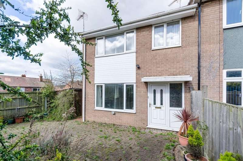 2 Bedrooms End Of Terrace House for sale in Grove Mount, Pontefract